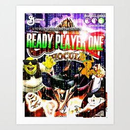 Official Ready Player One Poster Art Print
