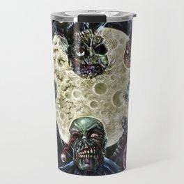 Zombies attack (zombie circle horde) Travel Mug