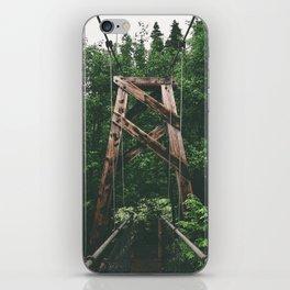 Forest Bridge II iPhone Skin