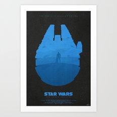Light - The Force Awakens Art Print