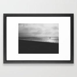 Lifting Fog Framed Art Print