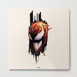 Here's Carnage Metal Print