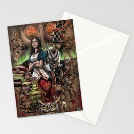 Alice Madness Returns Stationery Cards