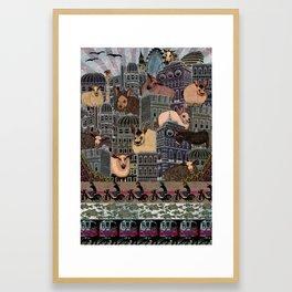 London City Farm Framed Art Print