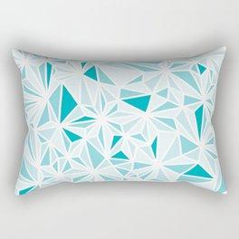 geo blue Rectangular Pillow