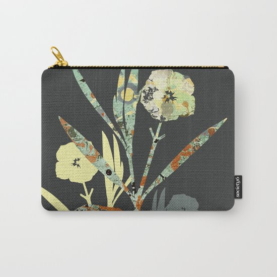 Floral Decor III Carry-All Pouch