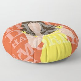 Pushing Daisies - Chuck Floor Pillow