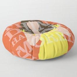 Pushing Daisies - Chuck Floor Pillow