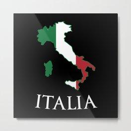 Italy-Italia Metal Print