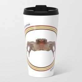 Striped Jumper Metal Travel Mug