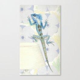 Living Interiors serie - Iguana Canvas Print