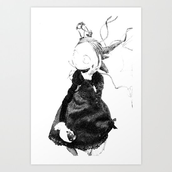 Death in Paris Art Print