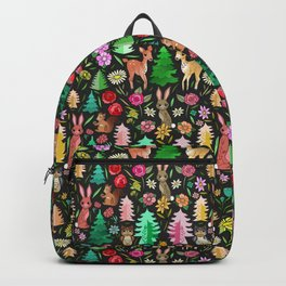 Forest Friends in the Kitsch Woods Backpack
