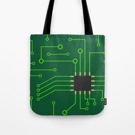 Microchip Pcb, tech print Tote Bag