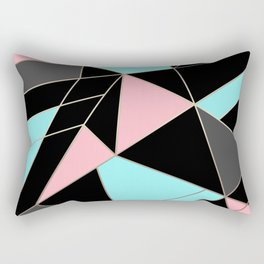Abstraction . 5 geometric pattern Rectangular Pillow