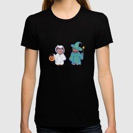 Trick or Treat Halloween Owls T-shirt
