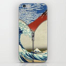 Mt. Fuji and the Wave iPhone Skin