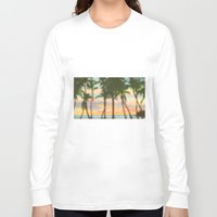 palm Long Sleeve T-shirts featuring palm by OVERall