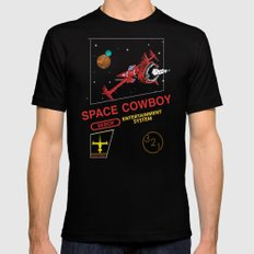 NES Cowboy Bebop Black X-LARGE Mens Fitted Tee