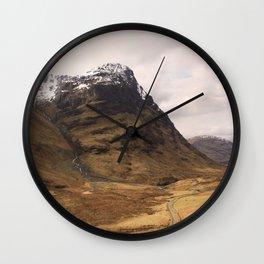 Glencoe 1 Wall Clock