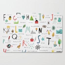 ABC Cutting Board