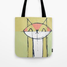 Cubist Cat Study #4 by Friztin Tote Bag