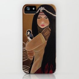 Agas: Medicine Woman iPhone Case
