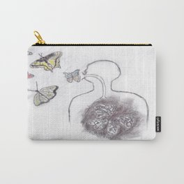 Butterfly Culture Carry-All Pouch