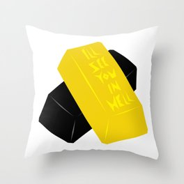 You're Solid Gold Throw Pillow