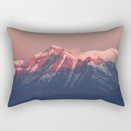 Himalayan peaks Rectangular Pillow