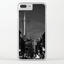 Transamerica Tower San Francisco Clear iPhone Case