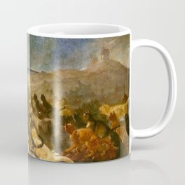 """Théophile Steinlen """"The Apotheosis of the Cats"""" Coffee Mug"""