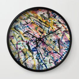 Beautiful Chaos Wall Clock