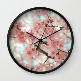 Reverence (Cherry Blossoms) Wall Clock