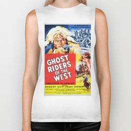Ghost Riders of The West Biker Tank