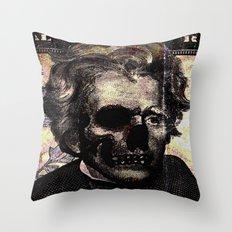 Jackson pop art  Throw Pillow