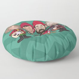 A Killers Holiday Floor Pillow