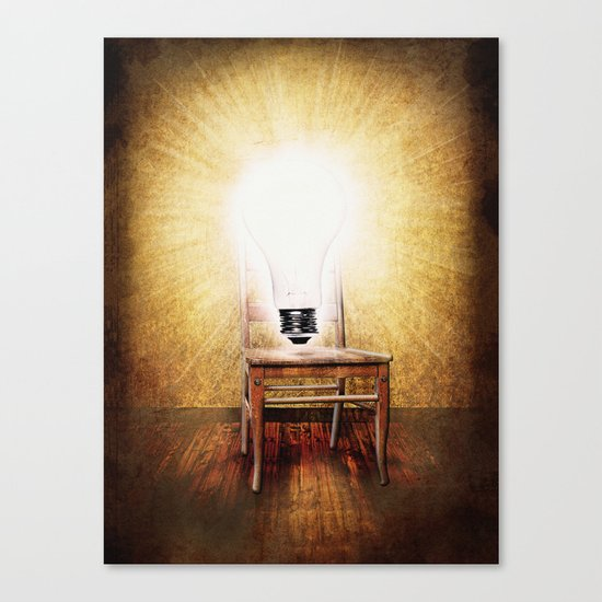 The Seat of Big Ideas Canvas Print