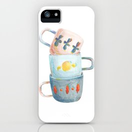 Tea mugs iPhone Case