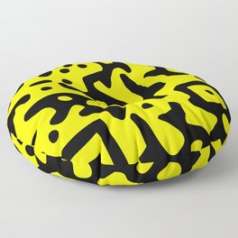 QR Clothes Yellow - Accessories Floor Pillow