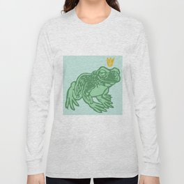 the Frog Prince Long Sleeve T-shirt