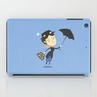 mary poppins iPad Cases featuring Mary Poppins by Rod Perich