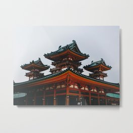 Heian Shrine Metal Print