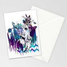 Tribal Girl - Colourway - Stationery Cards