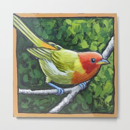 Tanager Teenager Metal Print