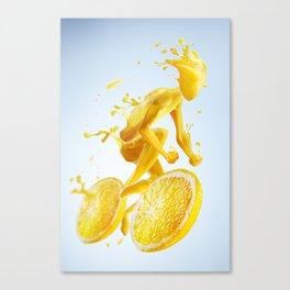 Juice Bike Canvas Print