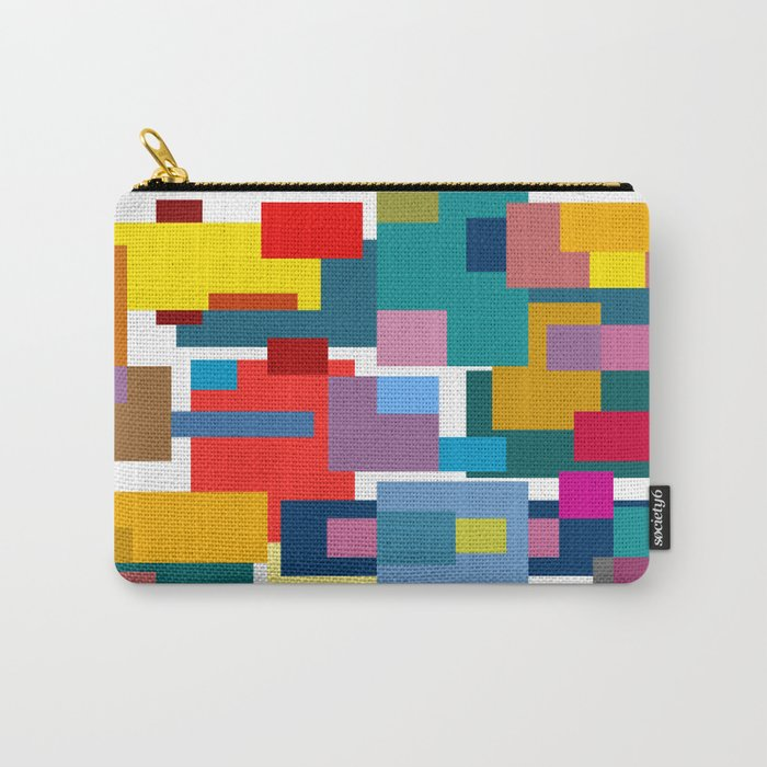 Color Blocks #4 Carry-All Pouch