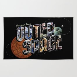 Greetings From Outer Space (color 01) Rug