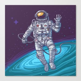 Hello Universe Canvas Print