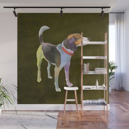 Fox Terrier Wall Mural